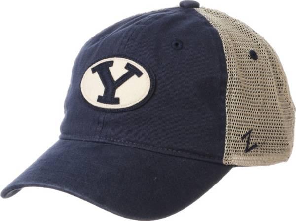 Zephyr Men's BYU Cougars Blue Hawthorne Adjustable Trucker Hat product image