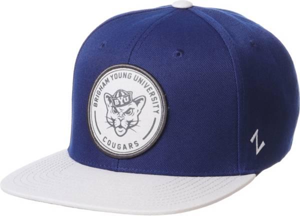 Zephyr Men's BYU Cougars Blue Snapback Adjustable Hat product image