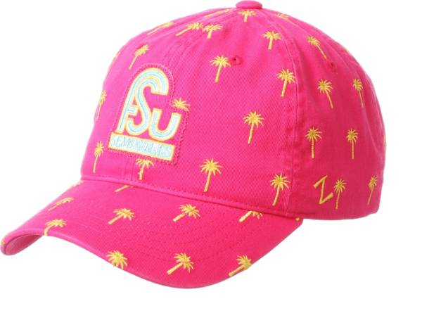Zephyr Men's Florida State Seminoles Pink Beach Collection Adjustable Hat product image