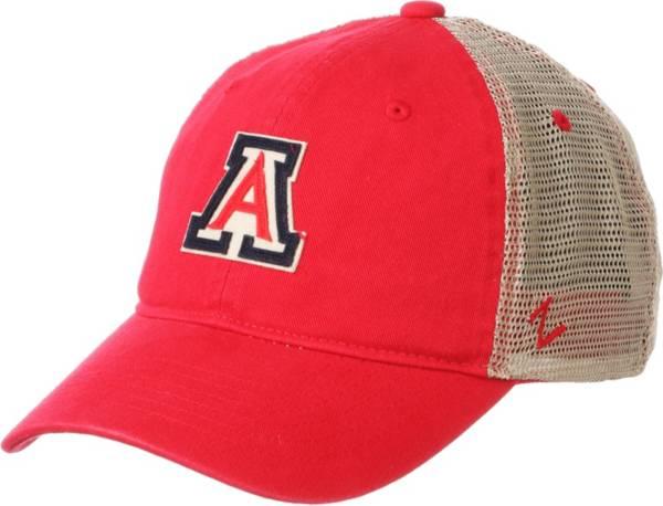 Zephyr Men's Arizona Wildcats Cardinal Hawthorne Adjustable Trucker Hat product image