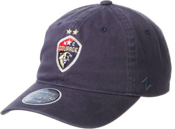 Zephyr North Carolina Courage Team Light Navy Adjustable Hat product image