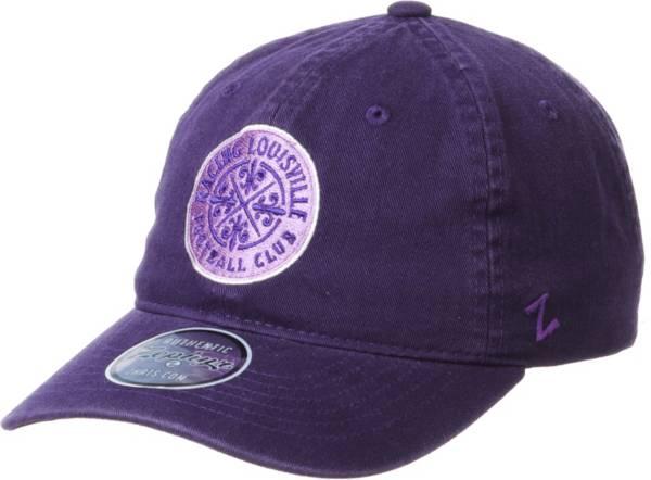 Zephyr Racing Louisville FC Team Purple Adjustable Hat product image