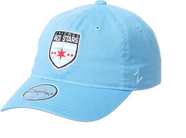 Zephyr Chicago Red Stars Team Light Blue Adjustable Hat product image