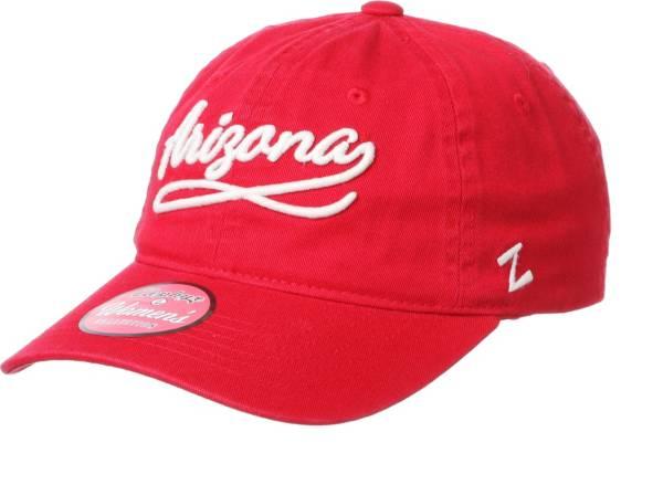 Zephyr Men's Arizona Wildcats Red Loise Adjustable Hat product image