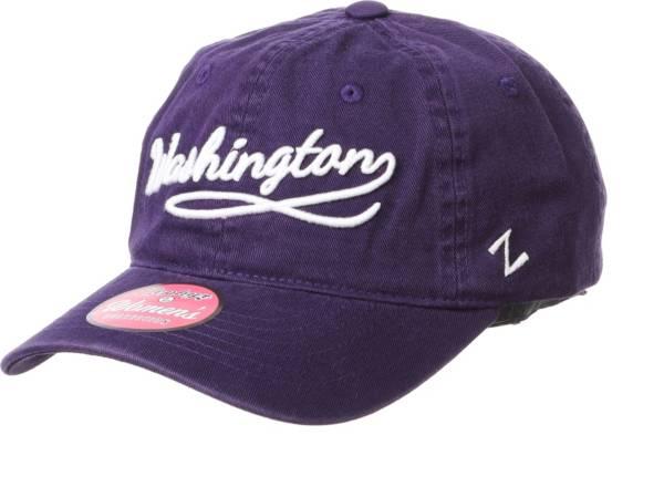 Zephyr Men's Washington Huskies Purple Loise Adjustable Hat product image