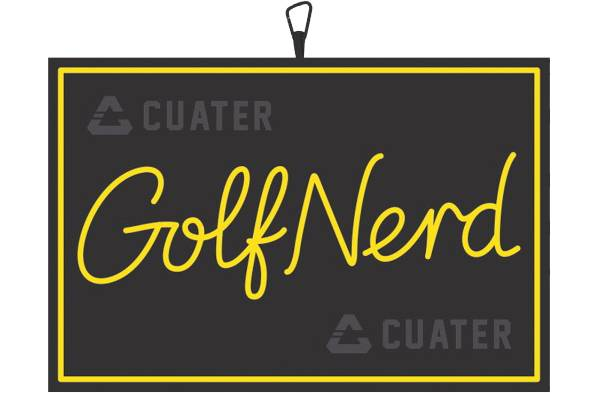 Cuater Hold The Mustard Golf Towel product image