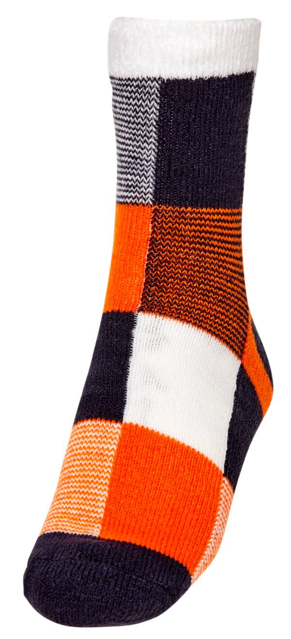Northeast Outfitters Men's Cozy Cabin Feedstripe Lines Print Crew Socks product image