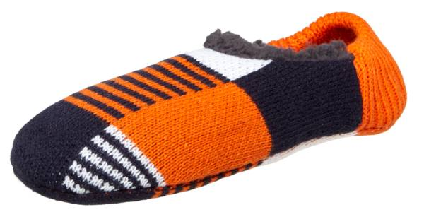 Northeast Outfitters Men's Cozy Cabin Feedstripe Lines Print Slipper Socks product image