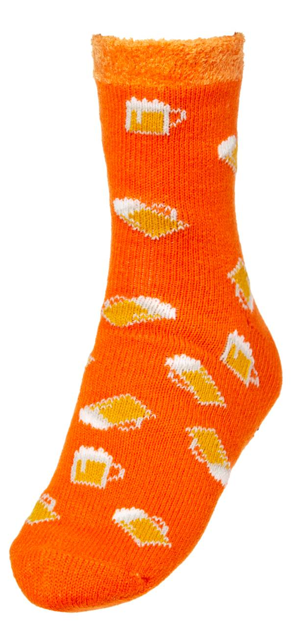 Northeast Outfitters Men's Cozy Cabin Game Day Print Crew Socks product image