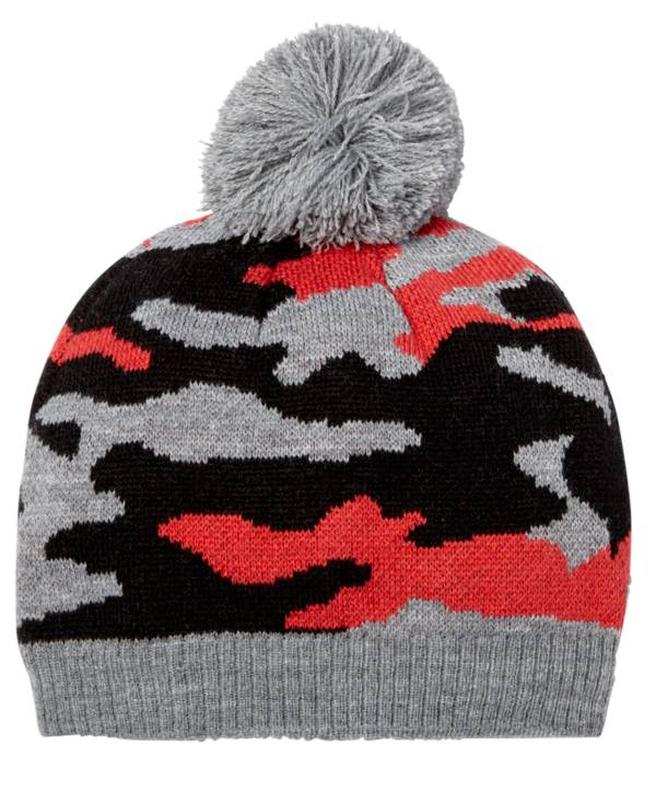 Northeast Outfitters Youth Cozy Camo Pom Pom Hat product image