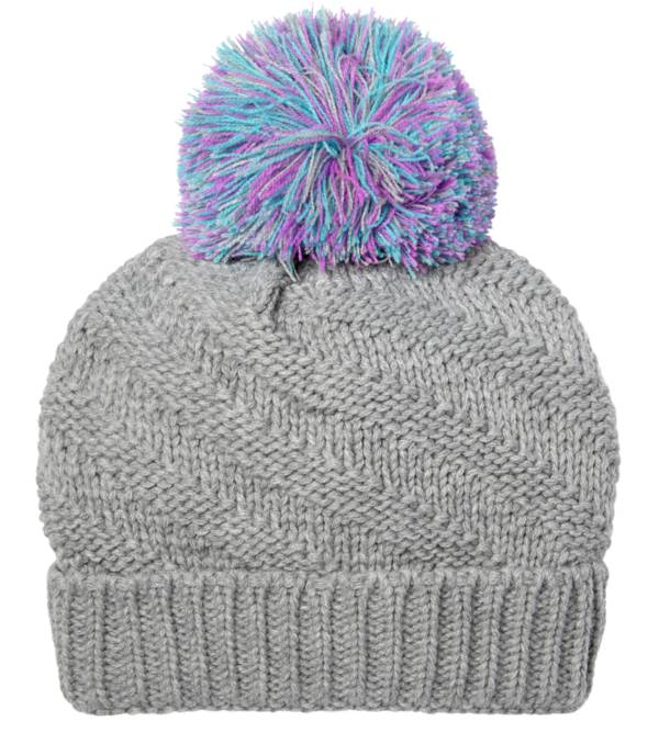 Northeast Outfitters Youth Cozy Swirl Pom Pom Hat product image