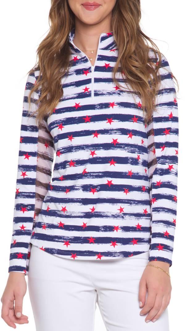 IBKUL Women's Long Sleeve Golf ¼ Zip product image
