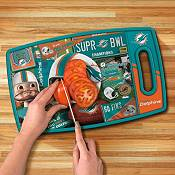 You The Fan Miami Dolphins Retro Cutting Board product image