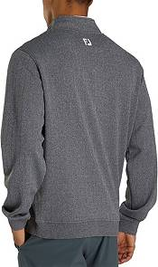 FootJoy Men's Drop Needle Gathered Bottom ½ Zip Golf Pullover product image
