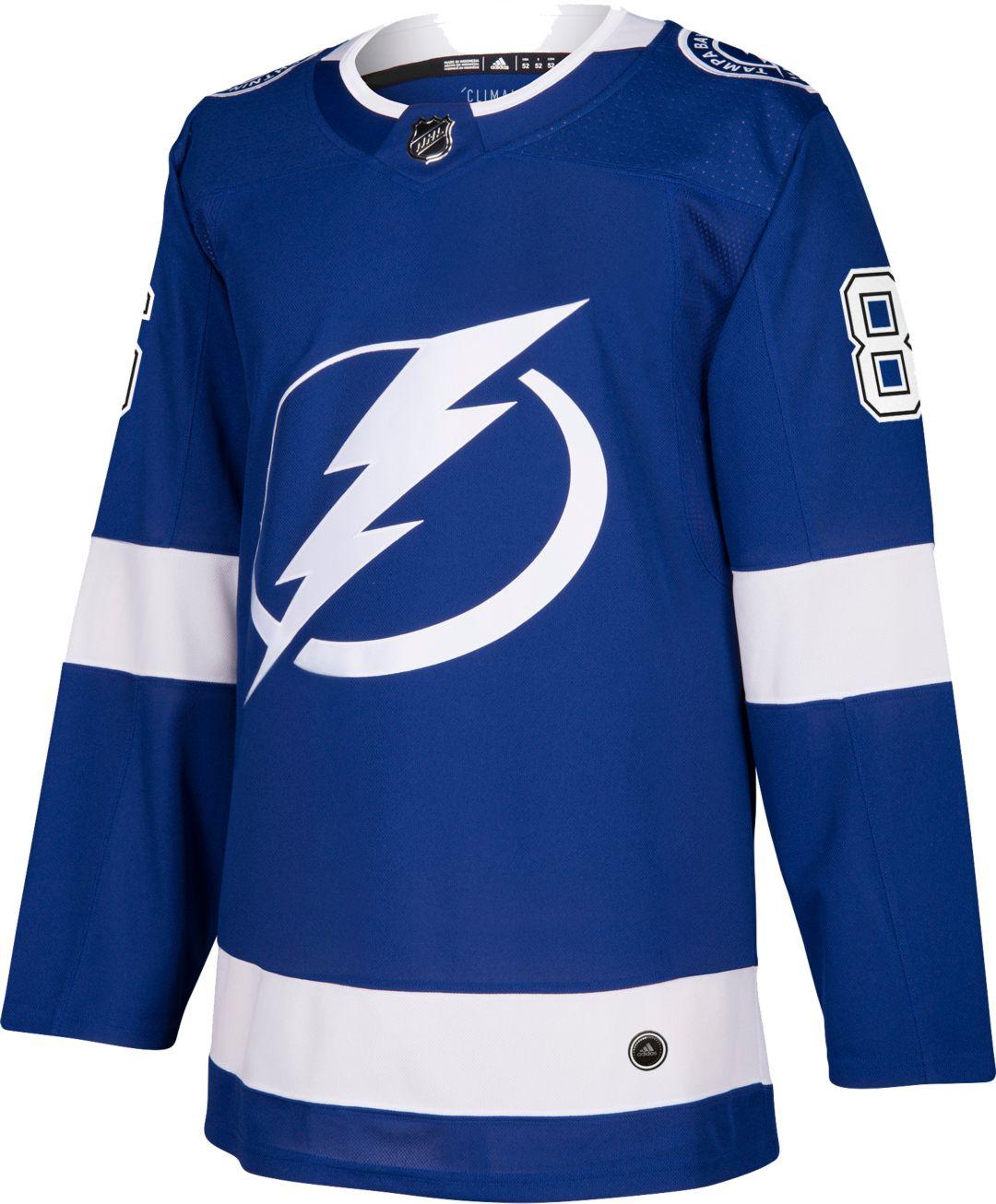 low priced fab40 1df59 adidas Men's Tampa Bay Lightning Nikita Kucherov #86 Authentic Pro Home  Jersey