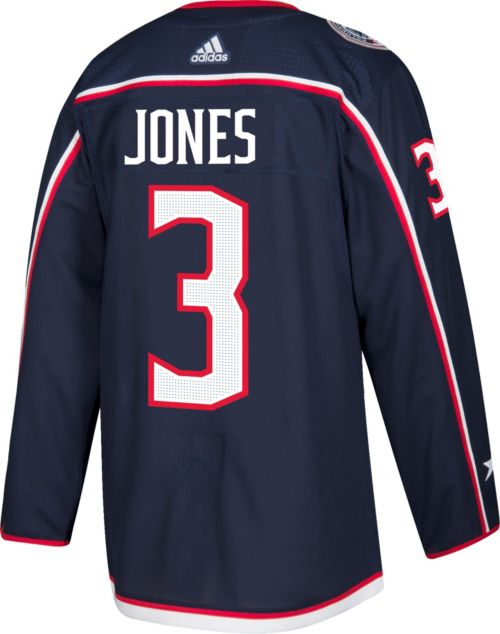 f313c3aef57 adidas Men's Columbus Blue Jackets Seth Jones #3 Authentic Pro Home Jersey.  noImageFound. Previous. 1. 2. 3