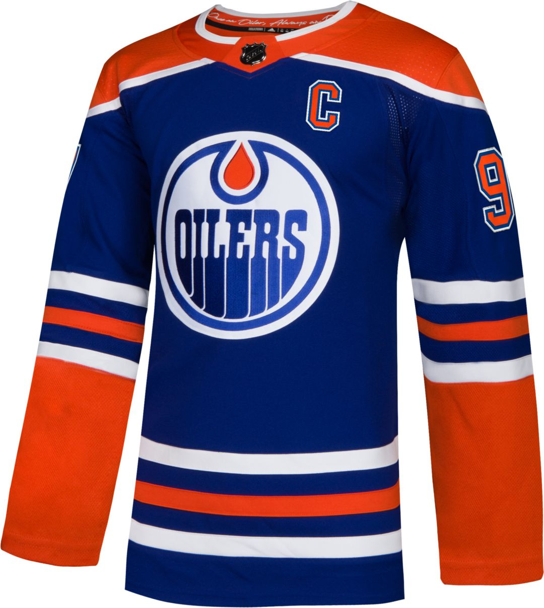 new style 85a17 c875e adidas Men s Edmonton Oilers Connor McDavid  97 Authentic Pro Alternate  Jersey 2