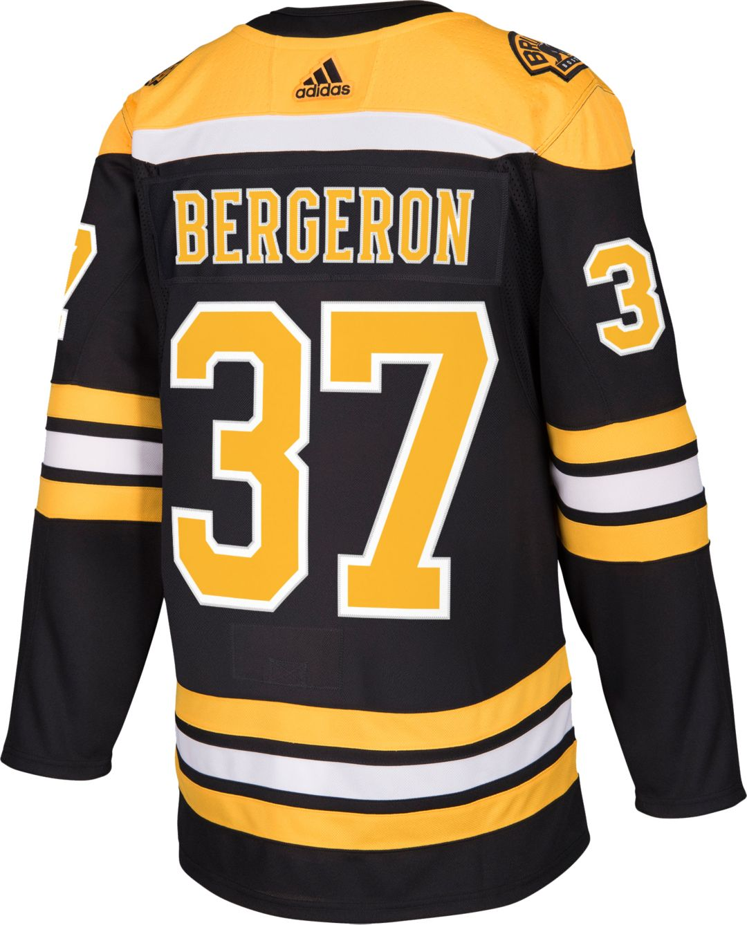 new style 5291a 09034 adidas Men's Boston Bruins Patrice Bergeron #37 Authentic Pro Home Jersey