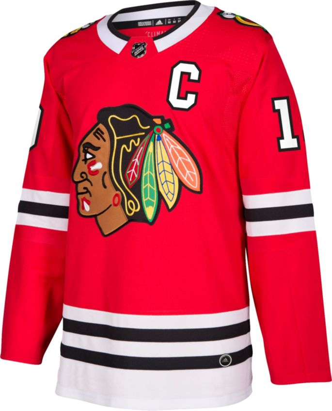 sports shoes 416eb 97bcf adidas Men's Chicago Blackhawks Jonathan Toews #19 Authentic Pro Home Jersey