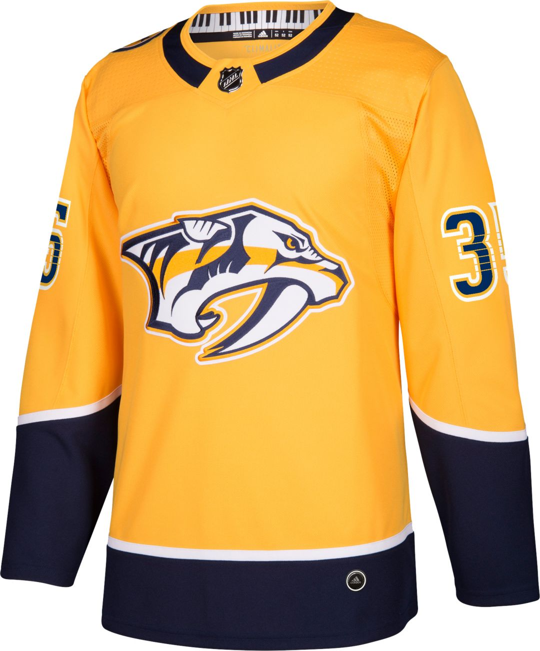 low priced c2f3b 5c2ad adidas Men's Nashville Predators Pekka Rinne #35 Authentic Pro Home Jersey