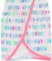 Under Armour Little Girls' Rainbow Wordmark T-Shirt and Shorts Set product image