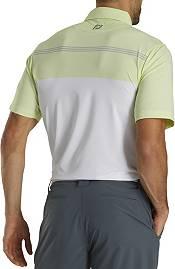 Footjoy Men's Lisle Engineered Pinstripe Self Collar Polo product image