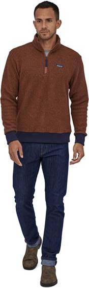 Patagonia Men's Woolyester Fleece Quarter Zip Pullover Sweater product image