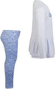Nike Little Girls' Dri-FIT Peplum Long Sleeve Tunic and Leggings Set product image