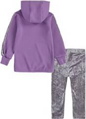 Nike Little Girls' Velour Hoodie and Leggings Set product image