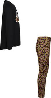 Nike Little Girls' Leopard Heart Tunic and Leggings Set product image