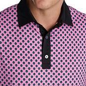 FootJoy Men's Geo Print Lisle Golf Polo product image