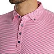 FootJoy Men's Feeder Stripe Jersey Buttondown Collar Golf Polo product image