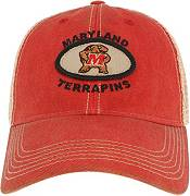 League-Legacy Men's Maryland Terrapins Red Old Favorite Adjustable Trucker Hat product image