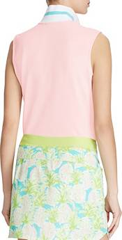 RLX Golf Women's Sleeveless Stripe Collar Golf Polo product image