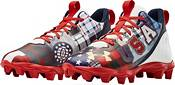 Under Armour Kids' Spotlight Franchise LE America RM Football Cleats product image