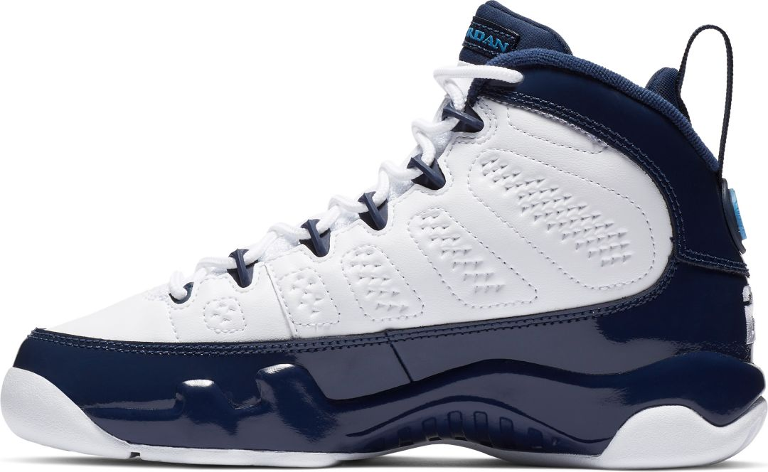 online store f0183 368f3 Jordan Kids' Grade School Air Jordan 9 Retro Basketball Shoes
