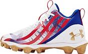 Under Armour Kids' Spotlight Fran RM LE USA Football Cleats product image
