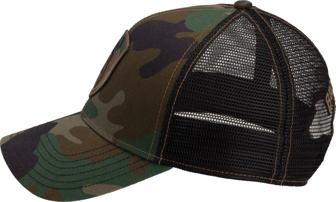 c0c3fb428 Browning Men's Stealth Green Camo Patch Hat