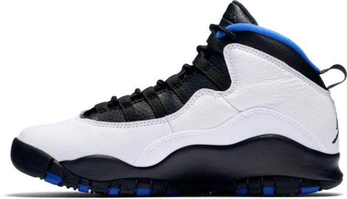 innovative design fdb67 19488 Jordan Kids' Grade School Air Jordan Retro 10 Basketball Shoes