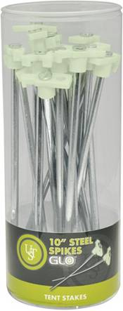 UST GLO Steel Spike 10'' Tent Stakes product image