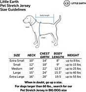 Little Earth Washington Football Team Pet Stretch Jersey product image