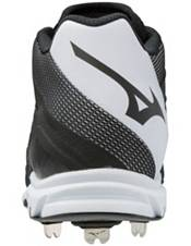 Mizuno Men's 9-Spike Dominant IC Mid Metal Baseball Cleats product image