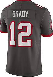 Nike Men's Tampa Bay Buccaneers Tom Brady #12 Pewter Limited Jersey product image