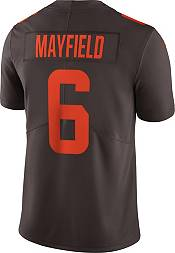 Nike Men's Cleveland Browns Baker Mayfield #6 Brown Limited Jersey product image