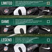 Nike Men's Carolina Panthers Christian McCaffrey #22 Black Limited Jersey product image