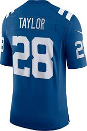 Nike Men's Indianapolis Colts Jonathan Taylor #28 Blue Limited Jersey product image