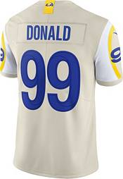 Nike Men's Los Angeles Rams Aaron Donald #99 White Limited Jersey product image