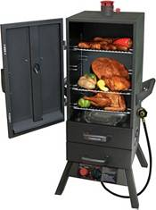 "Landmann 34"" Two-Drawer Vertical Gas Smoker product image"