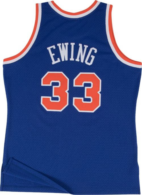 e83fbd7e742 Mitchell   Ness Men s New York Knicks Patrick Ewing  33 Hardwood Classics  Swingman Jersey
