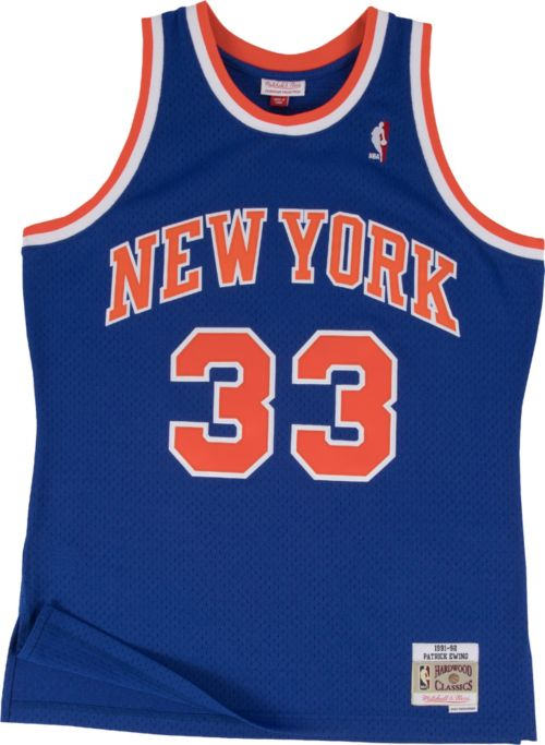 9a6ff91f896 ... New York Knicks Patrick Ewing  33 Hardwood Classics Swingman Jersey.  noImageFound. Previous